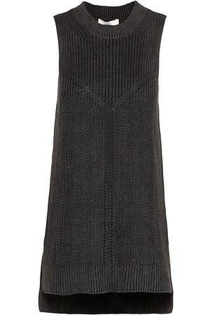 Joie Rivaria Knit Cotton Shell