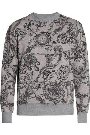 VERSACE Regalia Baroque-Print Sweatshirt
