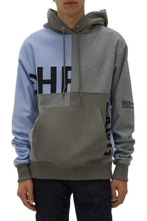 Helmut Lang Patchwork Logo Hoodie