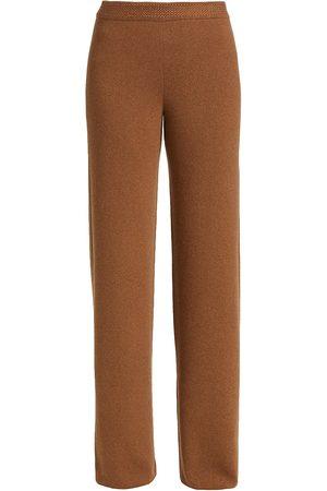 Loro Piana Cashmere Straight-Leg Pants