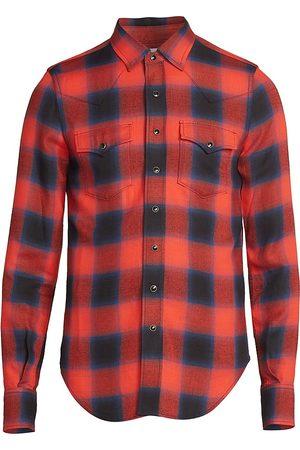 Saint Laurent Slim-Fit Western Shirt