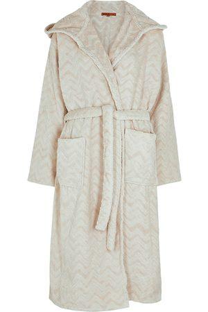 Missoni Rex zigzag terrycloth robe