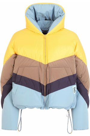 Dolce & Gabbana Men Puffer Jackets - Chevron-quilted padded coat