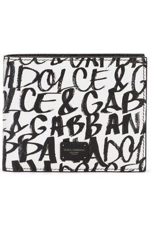 Dolce & Gabbana Logo-print leather wallet