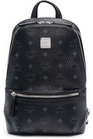MCM Rucksacks - Classic small sling monogram backpack