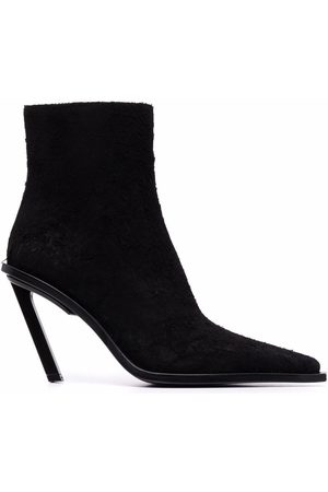 ANN DEMEULEMEESTER Women Ankle Boots - Slanted-heel ankle boots