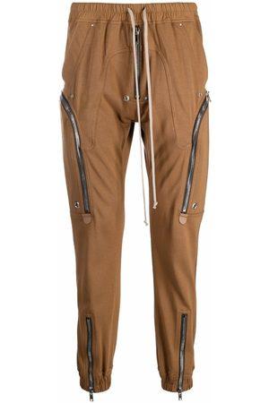 Rick Owens Men Cargo Pants - Bauhaus cargo track pants