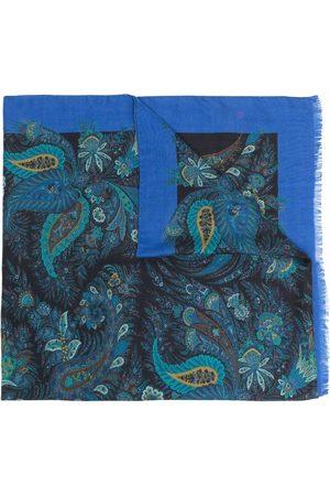 Etro Multi-print silk-cashmere scarf