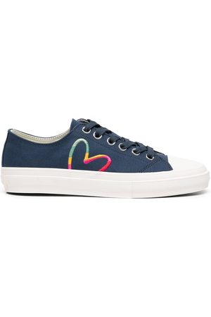 Paul Smith Women Sneakers - Heart print lace-up sneakers