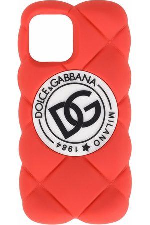 Dolce & Gabbana Men Phones Cases - DG logo quilted iPhone 12 Pro Max cover
