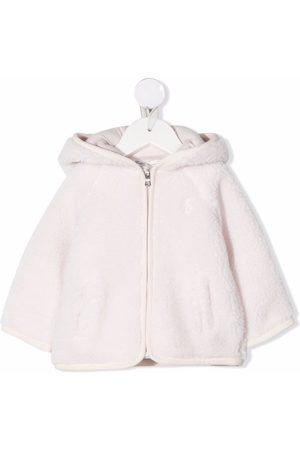 Ralph Lauren Coats - Hooded faux-shearling coat