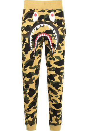 A Bathing Ape Men Sweatpants - Monster camouflage-print track pants