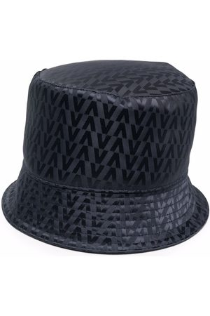 VALENTINO Men Hats - Logo-print bucket hat