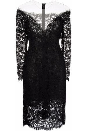 Dolce & Gabbana Women Party Dresses - Lace-detail mini dress