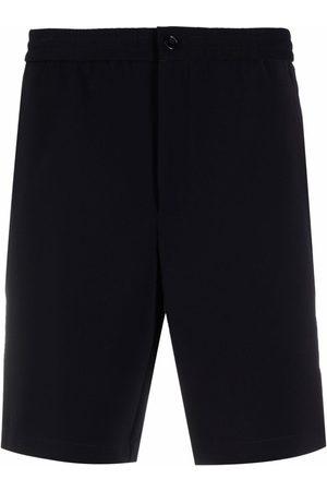 THEORY Men Bermudas - Tech-twill drawstring shorts