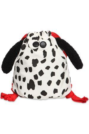 Stella McCartney Dalmatian Corduroy Cotton Backpack