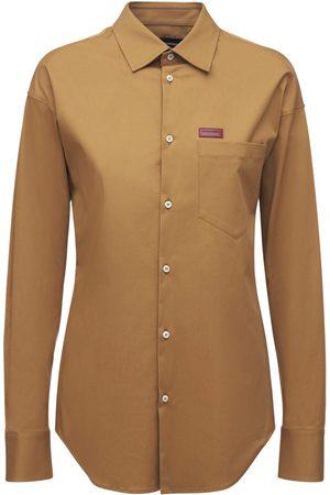 Dsquared2 Cotton Blend Twill Shirt