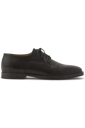 LEMAIRE Men Formal Shoes - Sqaure-toe Leather Derby Shoes - Mens