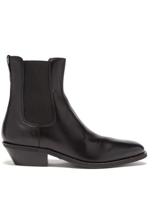 Tod's Leather Chelsea Boots - Mens
