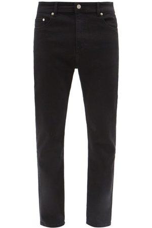 Maison Kitsuné Logo-patch Slim-leg Jeans - Mens