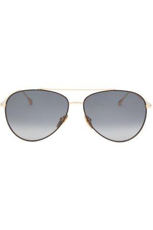 Isabel Marant Women Aviators - Edgy Aviator Metal Sunglasses - Womens