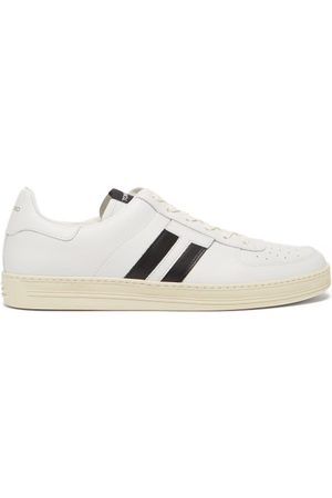 Tom Ford Men Sneakers - Striped Leather Trainers - Mens