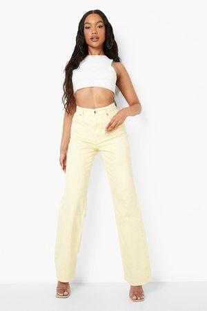 Boohoo Womens Wide Leg Jeans - - 2