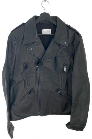 Sandro Fall Winter 2020 leather jacket