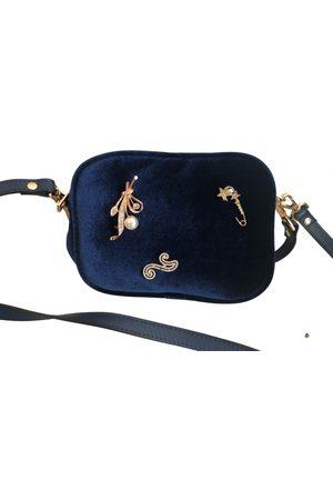 AVENUE 67 Velvet handbag