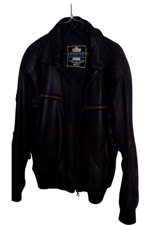 OSCAR TIYE Leather vest