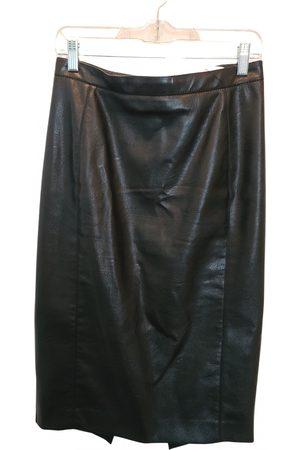 Stella McCartney Women Leather Skirts - Vegan leather mid-length skirt