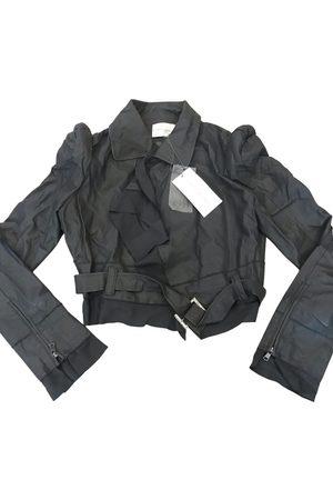LUNGTA DE FANCY Leather biker jacket