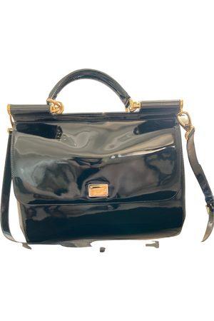 Dolce & Gabbana Sicily patent leather handbag