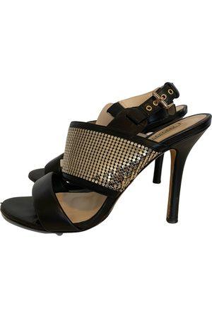 Oroton Leather sandals