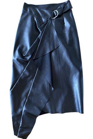 Isabel Marant Leather mid-length skirt