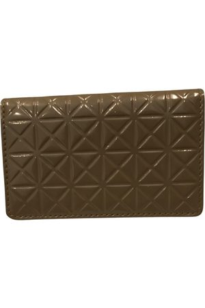 PLEATS PLEASE BY ISSEY MIYAKE Patent leather card wallet