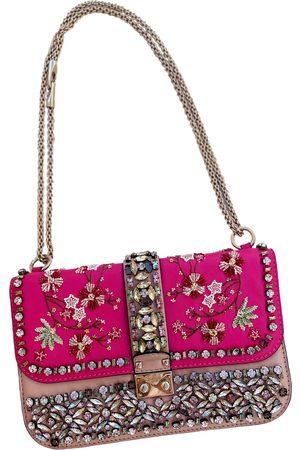 VALENTINO GARAVANI Glam Lock leather handbag