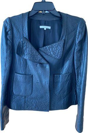 Carven Leather biker jacket