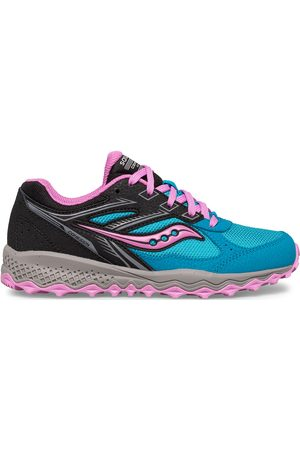 Saucony Kids Sneakers - Cohesion TR14 Lace Sneaker BluePinkBlack