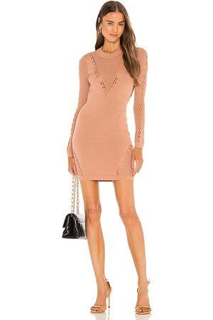 Michael Costello X REVOLVE Ximena Dress in Nude.