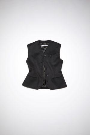 Acne Studios Women Waistcoats - FN-WN-SUIT000300 Fitted suit vest