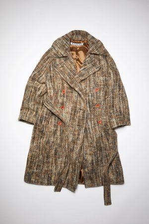 Acne Studios FN-WN-OUTW000485 /black Belted wool coat