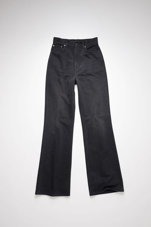 Acne Studios Bootcut - 1990 Washed Out Black Rigid FW21 Bootcut fit jeans