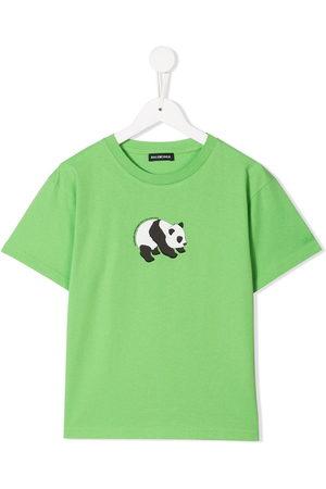 Balenciaga Boys T-shirts - Panda print T-shirt