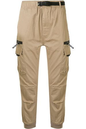 Izzue Men Cargo Pants - Cuffed cargo trousers