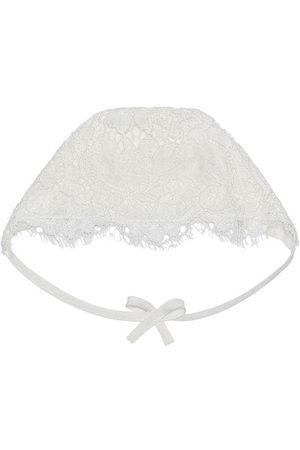 Dolce & Gabbana Hats - Lace-detail bonnet