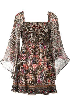 Camilla Women Party Dresses - Shirred bodice mini dress