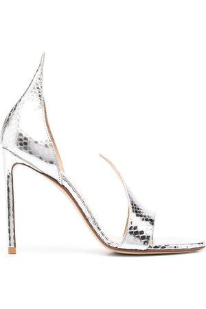 Francesco Russo Women Sandals - Ayers lizard-effect sandals
