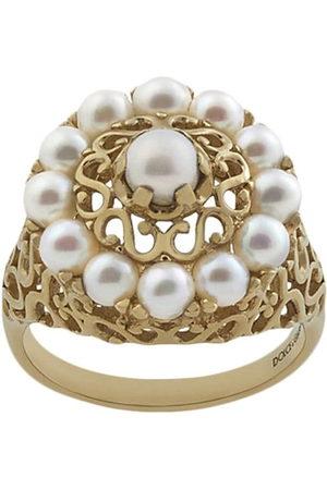 Dolce & Gabbana Women Rings - 18kt yellow Romance pearl ring