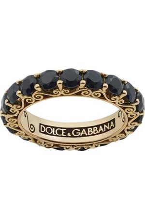 Dolce & Gabbana 18kt yellow gold Sicily sapphire ring